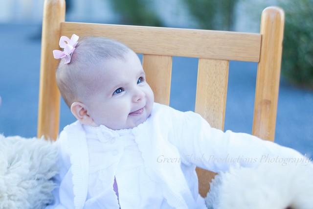 tiny baby hair bow