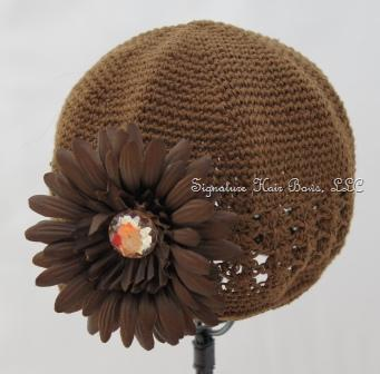 Signature Cap - Brown Daisy