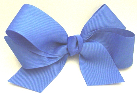 Basic Girls Hair Bow with Tails