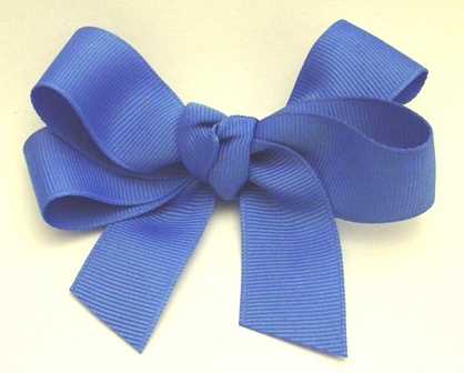 Basic Toddler Hair Bow with Tails