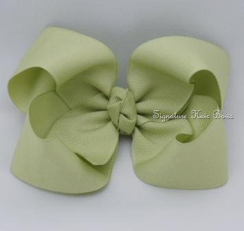 celadon hair bow