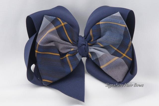 school uniform hair bow