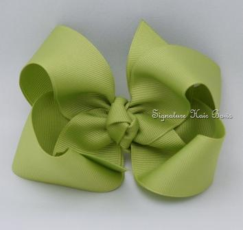 lemongrass hair bow