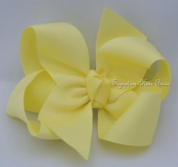 maize hair bow