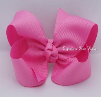 pixie pink hair bow