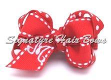 valentines baby bow