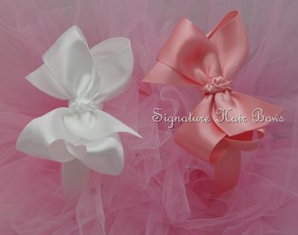Satin Headband with Signature Bow