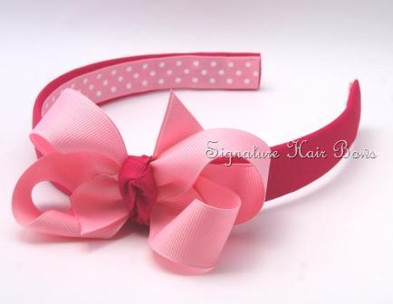 Headband with Signature Bow