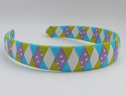 Tropical Twist Woven Headband