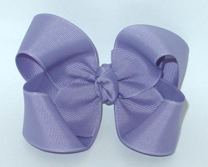 tropic lilac hairbow