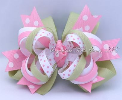 Super Pink Lemonade Bow
