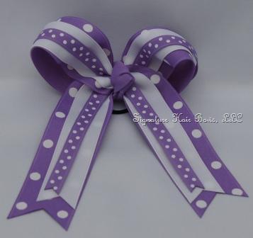 Horse Show Basic Bow - Purple Princess