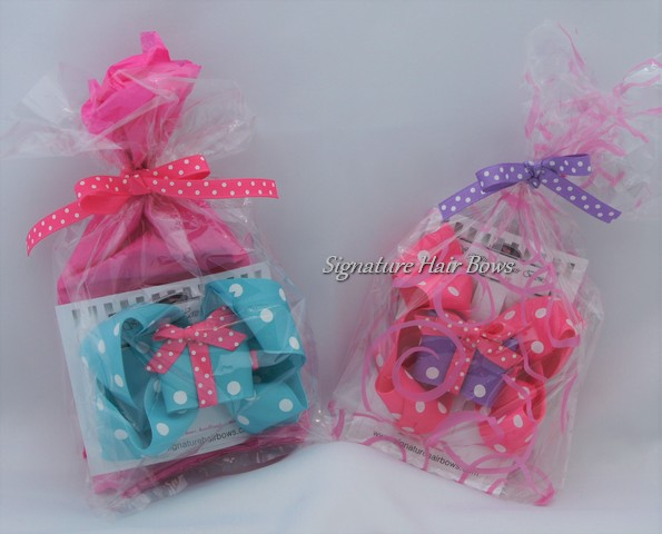 Birthday Gift Bow Favor Bags