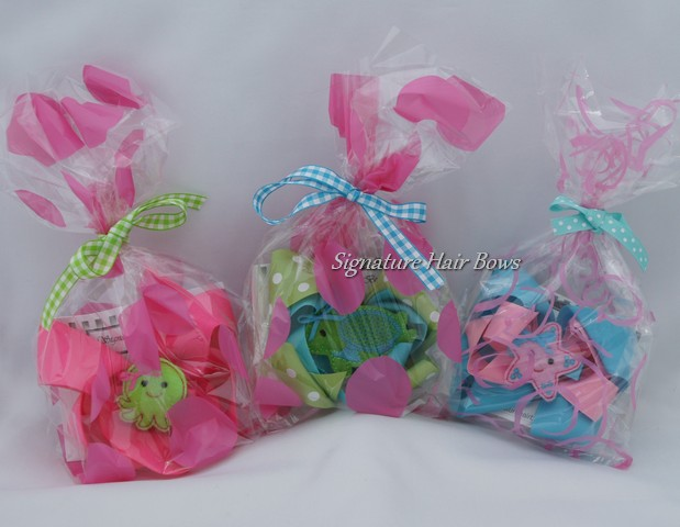 Under The Sea Bow Favor Bags