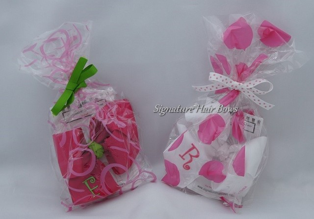 Signature Bow Favor Bags