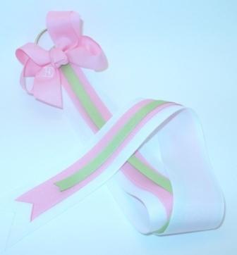 Deluxe Bow Holder � Pink Lemonade