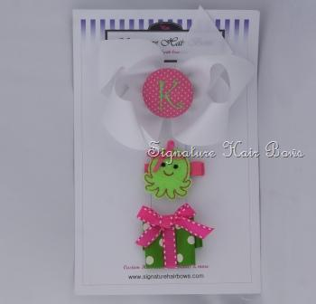 White and Green Gift Trio Set