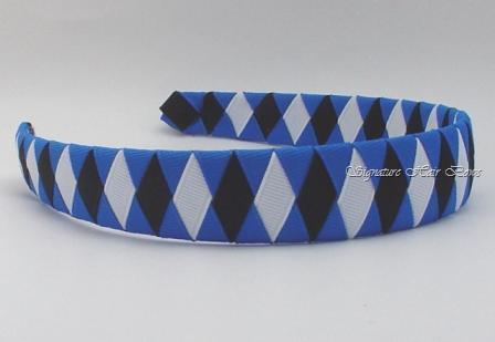 Go Blue Devils Woven Headband