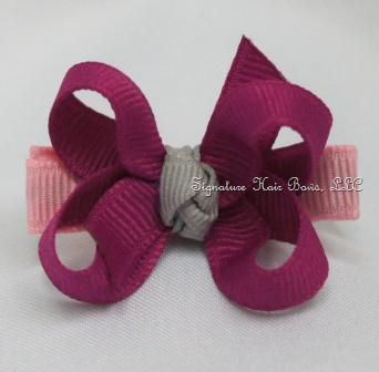 Pink Party Baby Bow