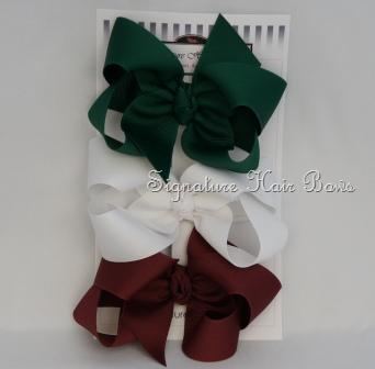 Girls School Uniform Set- Burgundy