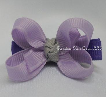 Sweet Purple Princess Baby Bow