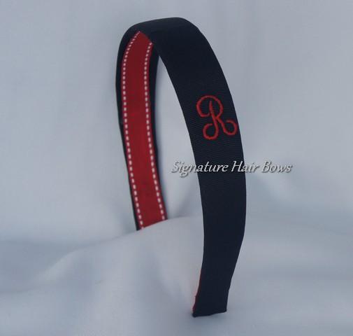 Monogrammed Headband