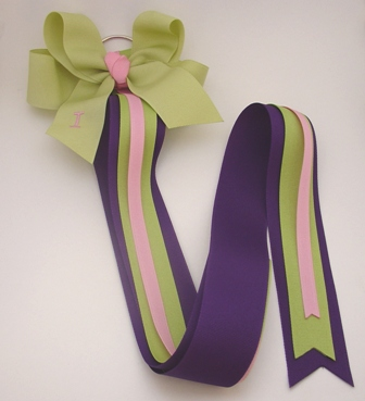 Deluxe Bow Holder � Perfect Plum