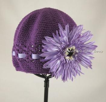 Signature Cap - Purple Daisy