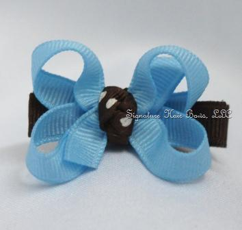 Sand and Sea Baby Bow