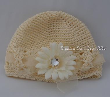 Signature Cap - Ivory Infant Cap