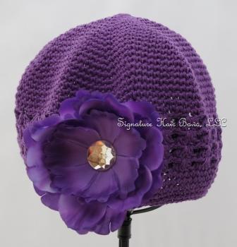 Signature Cap - Purple