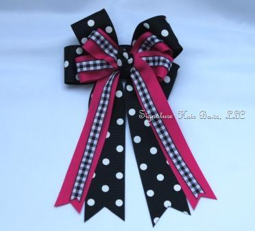 Horse Show Deluxe Bow - Signature