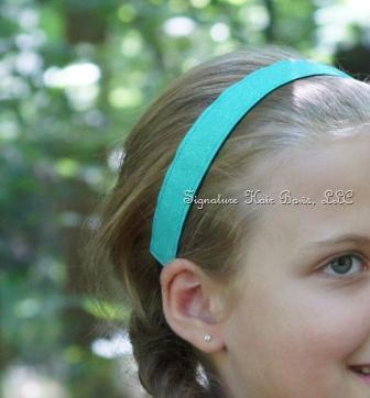 No-slip Sports Headband - Aqua Sparkle