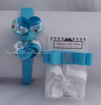 Turquoise Headband Set