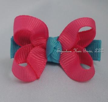 Cotton Candy Baby Bow
