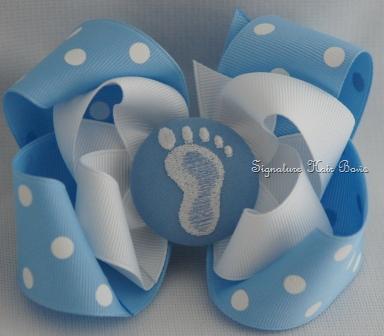 Tarheel Button Bow