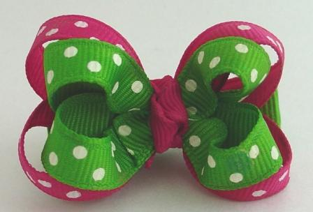 Watermelon Dots Layered Grippy
